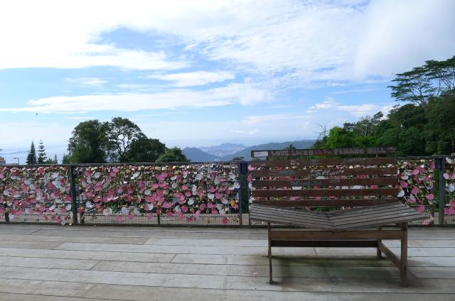 Duplikat dek cinta di Seoul Tower
