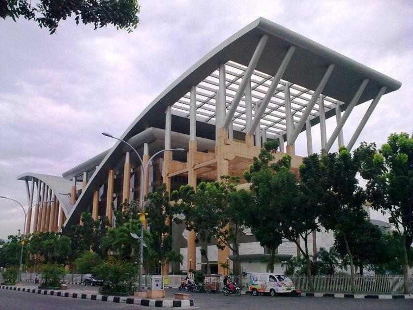 Soeman_HS_Library,_Pekanbaru,_Indonesia