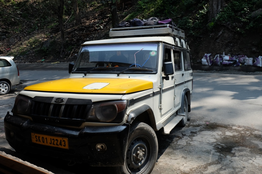 Jeep ke Sikkim