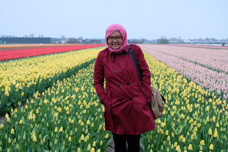 Backpacker Ke Eropa Lihat Tulip Gratis Di Desa Lisse Belanda Jilbab Backpacker