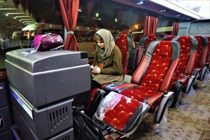 Keliling Iran dengan bus