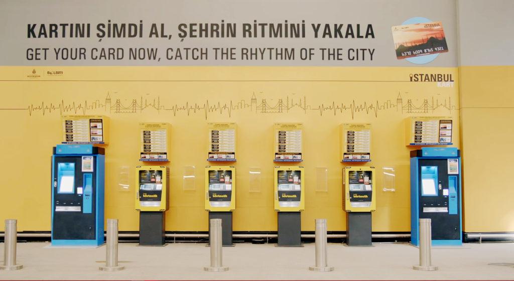 Lokasi beli Istanbulkart di Bandara Istanbul