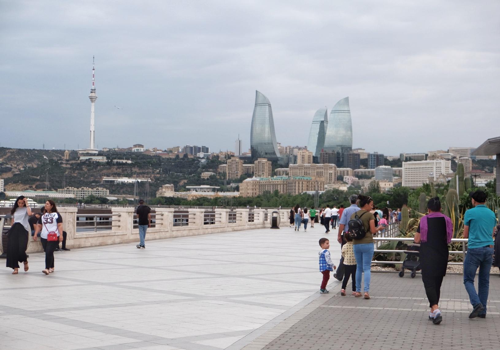 Solo Backpacking di Azerbaijan