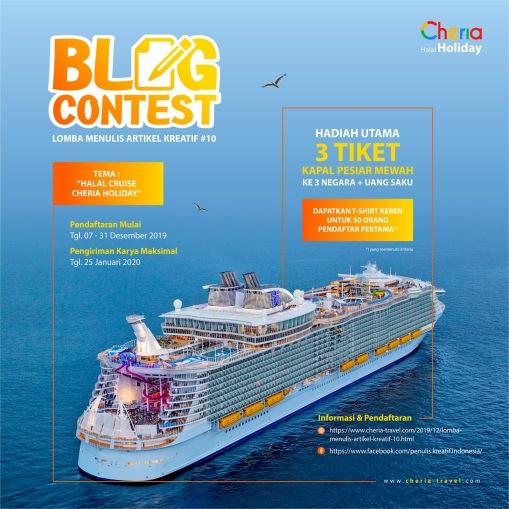 Blog Contest #10 Cheria Holiday