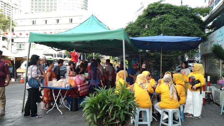 Makanan Nasi Lemak Halal di Bukit Bintang