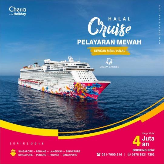 kapal pesiar cruise halal