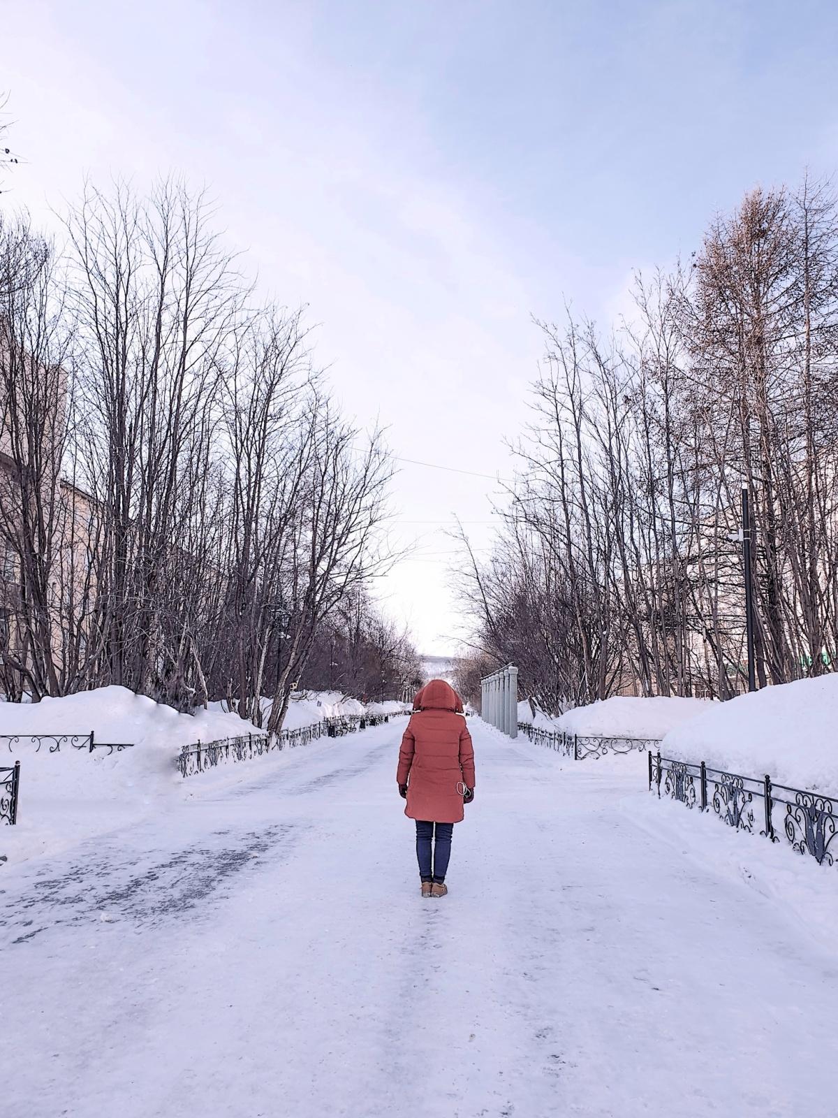 Persiapan Winter diRusia